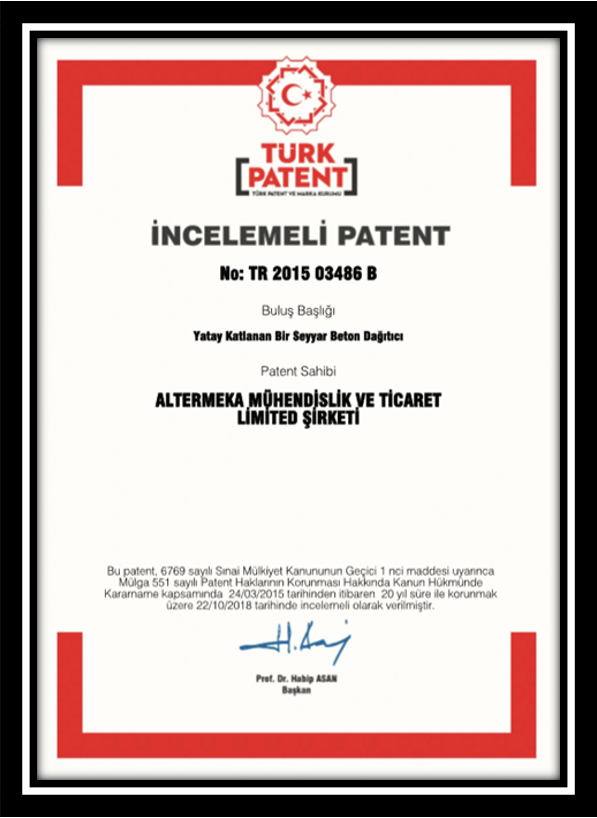 TRADEMARK AND PATENTS 3