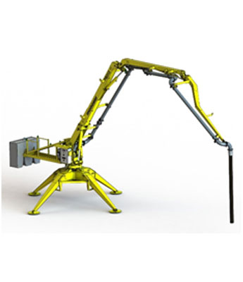 PORTABLE HYDRAULIC CONCRETE DISTRIBUTORS 4