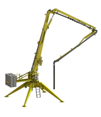 PORTABLE HYDRAULIC CONCRETE DISTRIBUTORS 5