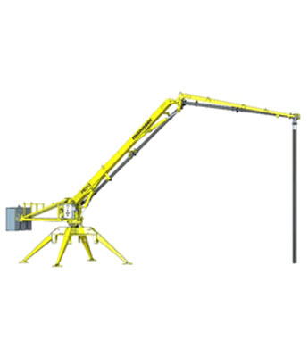 PORTABLE HYDRAULIC CONCRETE DISTRIBUTORS 1