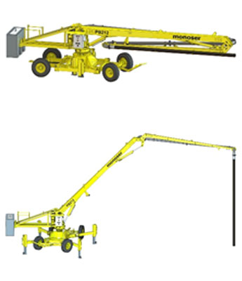 PORTABLE HYDRAULIC CONCRETE DISTRIBUTORS 7