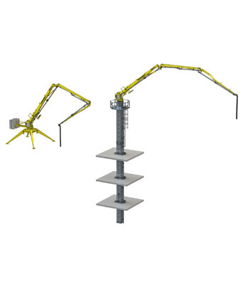 PORTABLE HYDRAULIC CONCRETE DISTRIBUTORS 6