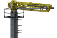 hydraulic concrete distributors with climbing mast icon