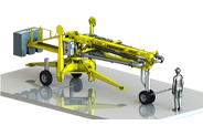 portable hydraulic concrete distributors icon