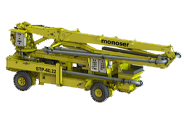remote controlled 4 4 self traction concrete pumps icon