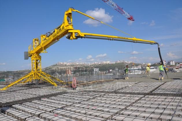 horizontal rotary hydraulic concrete distributors 1