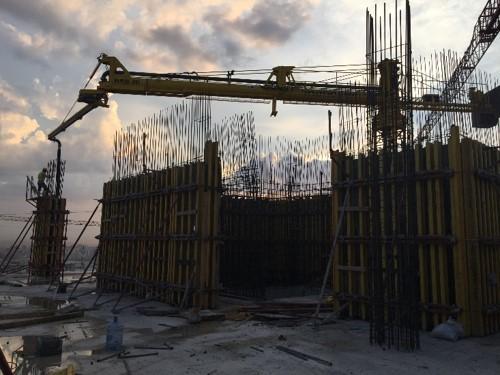 horizontal rotary hydraulic concrete distributors 3