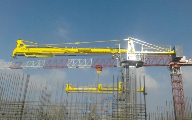 horizontal rotary hydraulic concrete distributors 4
