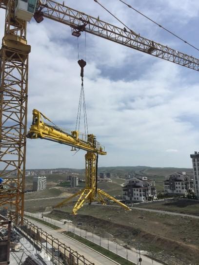 horizontal rotary hydraulic concrete distributors 7