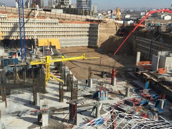 horizontal rotary hydraulic concrete distributors 8