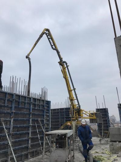 hydraulic portable concrete distributors 2