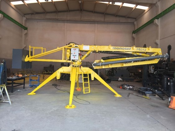 hydraulic portable concrete distributors 6