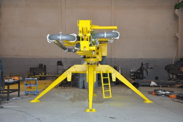 hydraulic portable concrete distributors 8