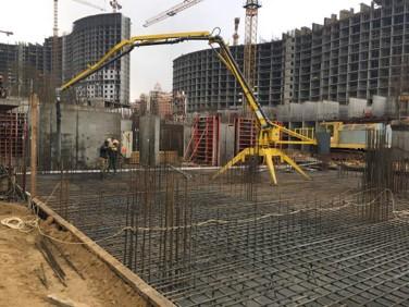 hydraulic portable concrete distributors 9