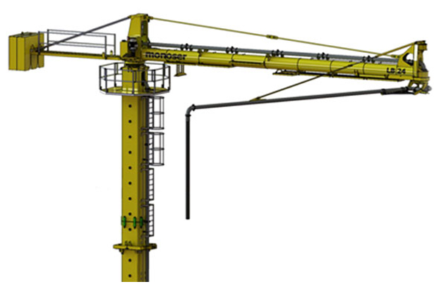 lb24 with climbing mast