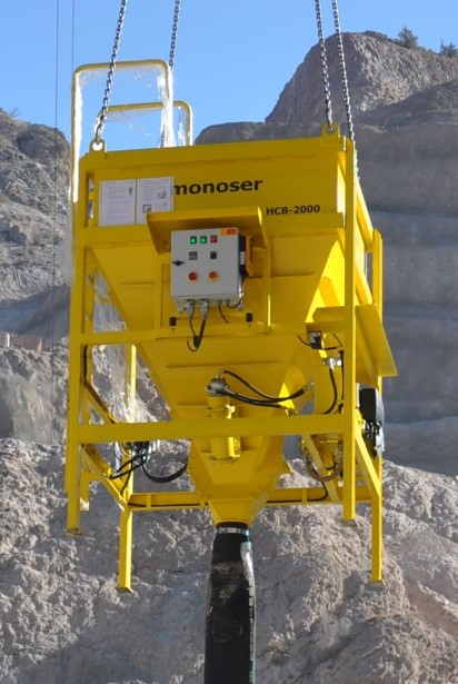 remote controlled concrete buckets 6