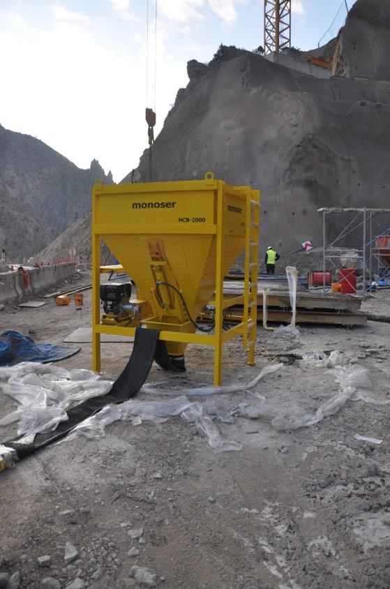 remote controlled concrete buckets 7
