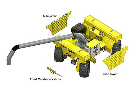 concrete line distributor 5
