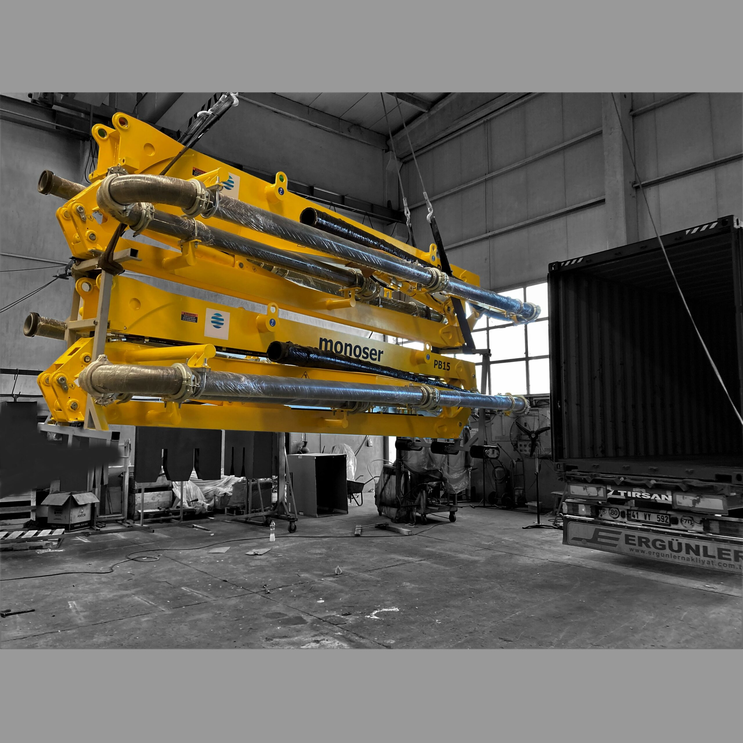 PB15 R3 Hydraulic Concrete Placing Distributor